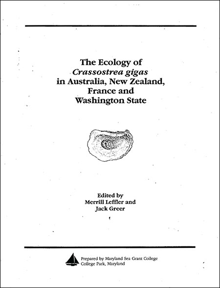 Cover image of The Ecology of Crassostrea gigas in Australia, New Zealand, France and Washington State.
